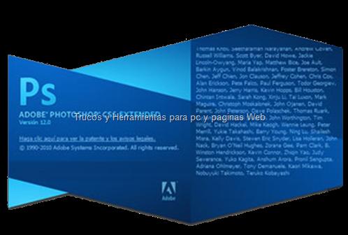 Adobe Photoshop CS5 Extended Portable en español.