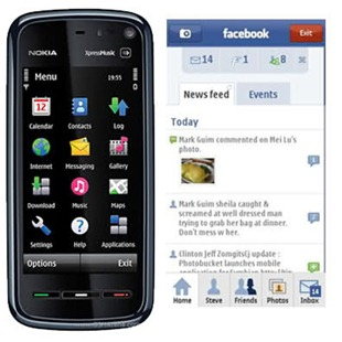 Aplicación Facebook para Nokia 5800
